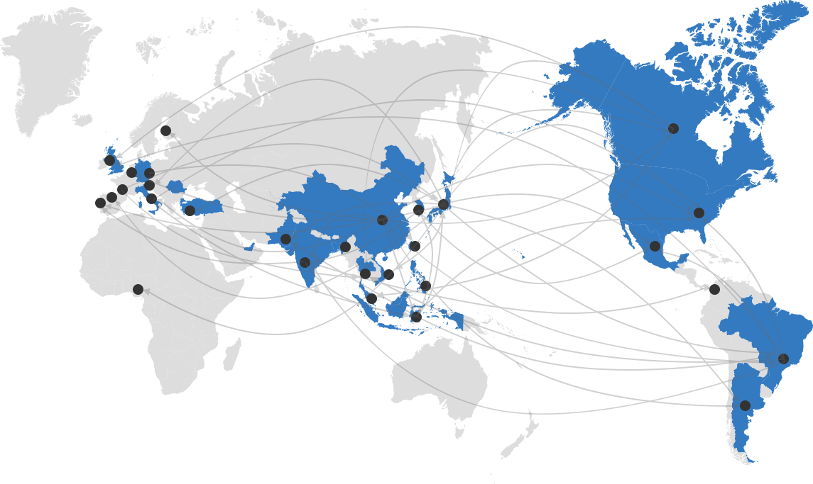Honda Trading's Global Network